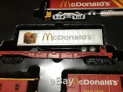 RARE Rail King Ready-to-run McDonald's Fast Freight Express Set