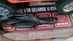RC4WD 1/18 Gelande II Ready to Run with Black Rock Body Set Orange