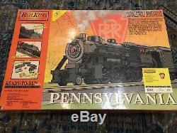 Rail King Electric Train Set Ready to Run Pennsylvania Smoke & Sound