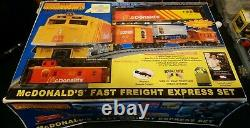 Rail King O Scale Train Ready-to-run McDonald's Fast Freight Express Set