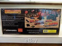 Rail King Ready-to-Run McDonald's Fast Freight Express O Gauge Train Set