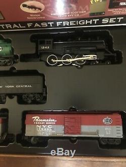 Rail King Train Set Ready to Run NewYork Central Fast Freight ProtoSound 2.0 NEW