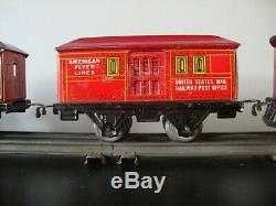 Ready-to-RUN American Flyer Prewar 1096 Locomotive Tinplate O Gauge Train Set