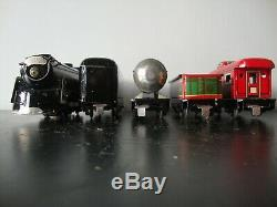 Ready-to-run Marx Prewar Electric Train Steam Type Double Decker Box Set 3966