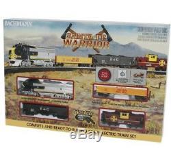 Santa Fe Warrior Ready To Run HO Gauge Train Electric Set Locomotive Railroad