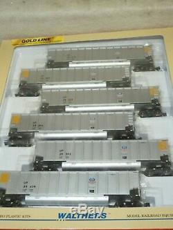 Set Of Six Walthers Ho Scale #932-40401 Union Pacific Bethgons New Ready To Run