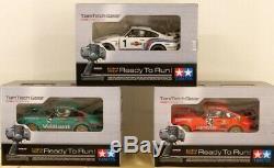 TAMIYA 1/12 RC Tamtech Gear Porsche 3 Pieces Set Ready to Run from Japan