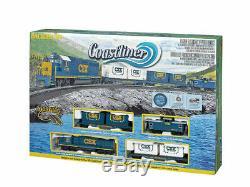 Trains 734 HO Scale Ready to Run Train Set Coastliner