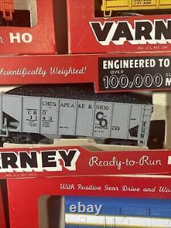 Varney Ready-to-Run HO locomotives train set lot