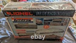 Vintage 1995 Lionel 6-11748 Amtrak Passenger Train Set Ready-To-Run New Sealed