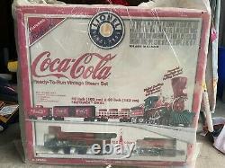 Vintage Coca Cola Lionel Train Set Ready to Run