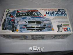 Vintage Tamiya 46019 AMG Mercedes C-Class DTM D2 Quick Drive RC Set 1/12 RTR