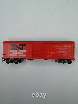 Vtg 1956 Revell H-O Ready To Run Electric Train Set Deluxe F7 Road Diesel 7 Cars