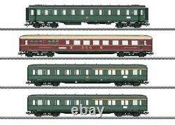 W441-43279 D 182 4-Car Passenger Set 3-Rail Ready to Run - German Federal