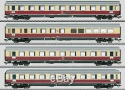 W441-43854 Helvetia Express 4-Car Set 3-Rail Ready to Run Exclusiv - Ger