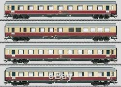 W441-43854 Helvetia Express 4-Car Set 3-Rail Ready to Run Exclusiv - Ger
