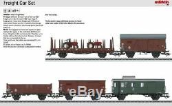 W441-46089 Era III 5-Freight Car Set 3-Rail Ready to Run - German Federal
