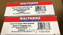 Walthers HO Santa Fe Super Chief Ready-To-Run Passenger Cars (Set of 13)