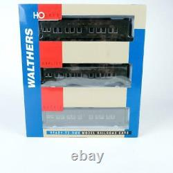 Walthers Pullman PS Troop Sleeper 3-Pack Set HO Scale Ready to Run 932-34152