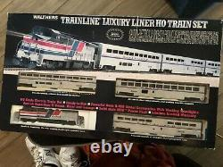 Walthers Trainline Luxury Liner Ready-to-run Ho Train Set