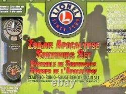 Zombie Apocalypse Gp38 Lionchief Ready-to-run Set Sku 6-82099