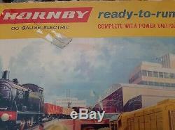 00 Hornby Prêt À Fonctionner Set Electric Set No. 2004