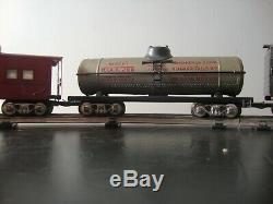 1950 Vintage Prêt-à-run Marx Train Electrique 999 Matricés Set Vapeur Locomotive
