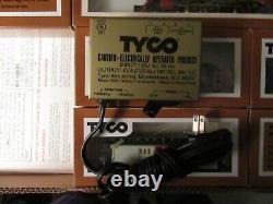 1976 Tyco Golden West Electric Train Set-old Iron Horse Ho Échelle Prête À Courir