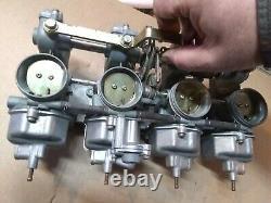 1977 Honda Cb750f Supersport Carb Carburetor Pd41b Set Bank Prêt À Fonctionner