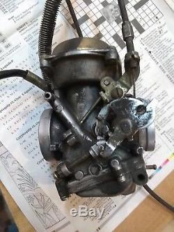 1986-1987 Vs700 Suzuki Carburetor Ensemble Avant Arrière Prêt À Fonctionner 1988-1990 Vs750