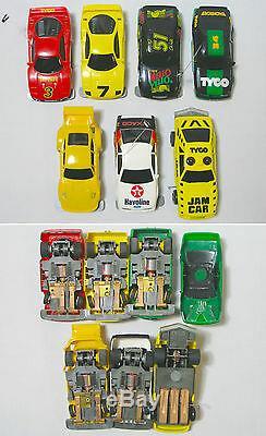 1992 Tyco Tcr Racing Total Control Emplacement Moins De Voiture Prêt À Fonctionner 6 Car Set Mise Au Point
