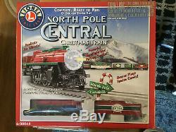 6-30068 Lionel North Pole Set Central Train, Prêt À Courir, Nib