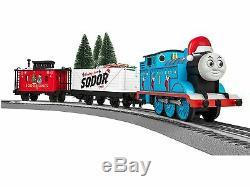6-83512 Lionel Thomas & Friends Christmas Lionchief Set De Fret Pret A La Course