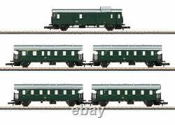 87507 5-car 2-axle Passenger Set 3-rail Ready To Run - German Federal Railr
