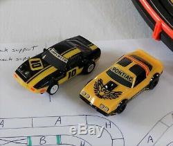 Afx Tomy 63,5' Mega Géant Raceway Piste Slot Car Set, 4' X 8' 100% Prêt À L'emploi