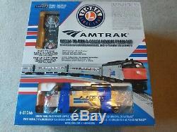 Amtrak Prêt-à-run O-gauge Set À Distance Train (ft Passenger) Utilisé Légèrement