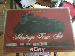 Anheuser Busch Heritage Train Set Est Flambant Neuf! # N12181 Prêt À Courir + Trains