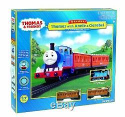 Bachmann 00642 Ho Scale Thomas Avec Annie Et Clarabel Coffret De Train Prêt À Partir