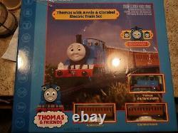 Bachmann 00642 Ho Scale Thomas Avec Annie Et Clarabel Set De Train Prêt À Rouler