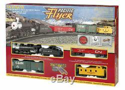 Bachmann 00692 Ho Pacific Flyer Steam Train Set Union Pacific Prêt À Run