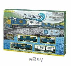 Bachmann 00734 Ho Scale Csx Coastliner Train Prêt À Run