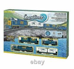 Bachmann 00734 Ho Scale Csx Coastliner Train Set Ready To Run