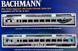 Bachmann 01204 Coffret Train Coffret Acela Express Ho Prêt À Fonctionner