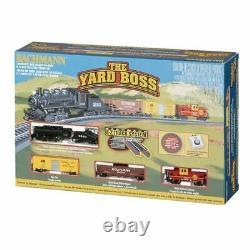 Bachmann 24014 N Santa Fe Yard Boss Steam Train Set Ready To Run