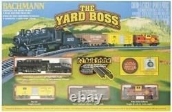 Bachmann 24014 Yard Boss N Scale Ready To Run Electric Train Set