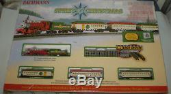 Bachmann 24017 N Echelle Esprit De Noël Prêt À Exécuter Train New Nib