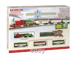 Bachmann 24017 N Échelle Prête À Courir Train Set Spirit Of Christmas