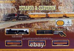 Bachmann 24020 N Échelle Durango & Silverton Steam Train Prêt À Courir