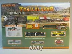 Bachmann 24024 N Trailblazer Steam Train Freight Prêt À Fonctionner