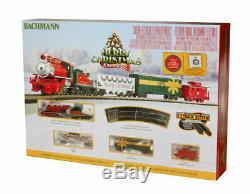 Bachmann 24027 N Echelle Joyeux Noël Express Train À Vapeur Pret À Run